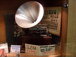 Edisonův fonograf