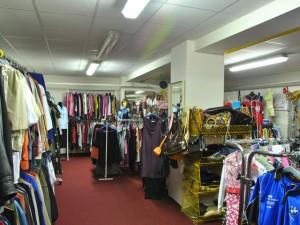 Bazar oděvů