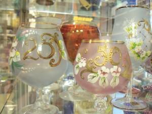 Novoborské sklo s věkem