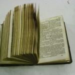 Kniha Nový Zákon - rok 1845